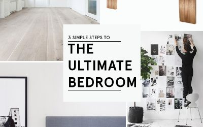 3 Simple Steps to the Ultimate Bedroom!
